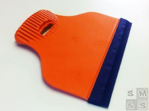 "8"" Rubber Edged Application Squeegee"